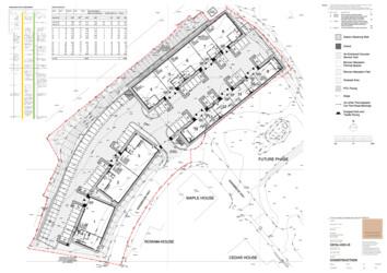 Units 1 - 14 Site Plan
